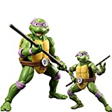 JGUSVYT Donatello Figures Teenage Mutant Ninja Turtles Toy Figure Action PVC Figure Tartarughe Ninja Giocattoli per I Fan Regalo di Compleanno 15 Cm (5.9in)