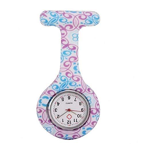 La Enfermera del Silicón del Reloj Doctor Personal Médico Broche del Reloj De Bolsillo