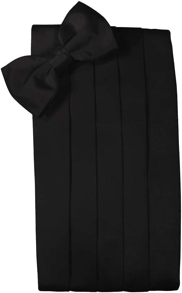 Cristoforo Cardi Noble Silk Cummerbund and Bow Tie Set