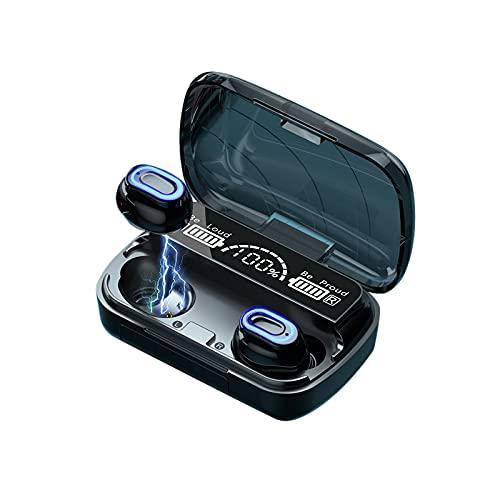 [2021 Ultimo Modello] Cuffie Bluetooth 5.1 Auricolari Bluetooth Senza Fili, 150H Ore, CVC 8.0, Cuffie Wireless Sport in Ear con Display LED e Touch Control, IPX7 Impermeabile, Custodia Di Ricarica