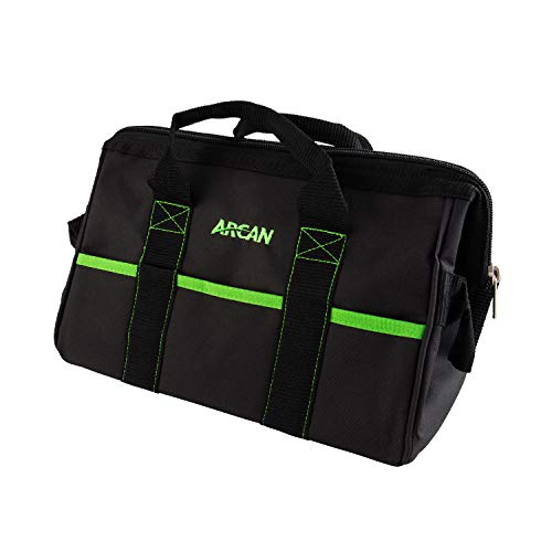 Arcan 16-Inch Tool Bag, 6 Outside Pockets and End Handles (ABAG6)