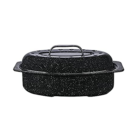 Granite Ware Covered Oval Roaster Image