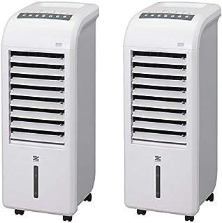 【2台セット】ゼンケン (ZENKEN) スリム温冷風扇 ヒート&クール ZHC-1200 ZHC1200 空調機器