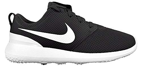 Nike Men's Roshe G Golf Shoe Black/White Size 12 M US