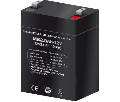 Batería plomo 12,0V/2,9Ah
