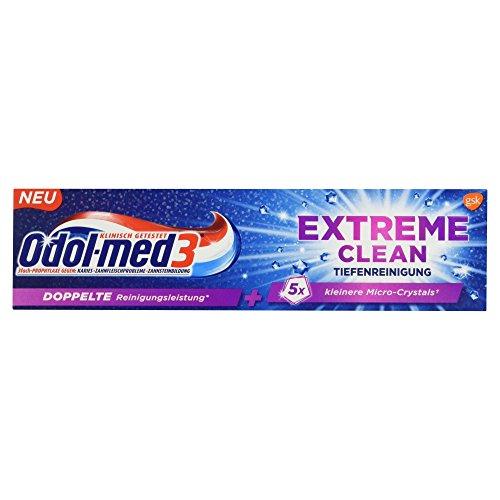 Odol-med3 Extreme Clean Tiefenreinigung Zahncreme, 75 ml