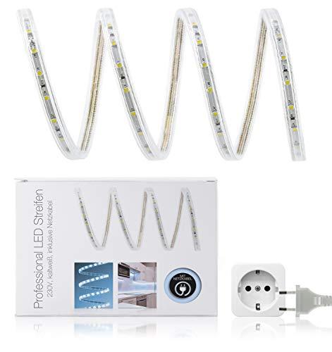 LED Universum Bande LED Protection IP68 Blanc chaud 230 V 15 m 60 LED/m