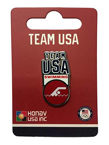 2020 Summer Olympics Tokyo Japan Team USA Swimming Pictogram Metal Lapel Pin