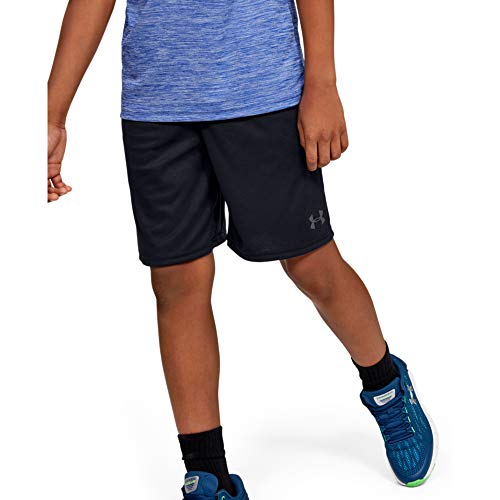 Under Armour Boy's Prototype Wordmark Shorts $12.00 at Amazon