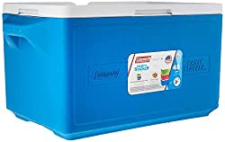 in budget affordable Coleman 48 can party forklift coolers