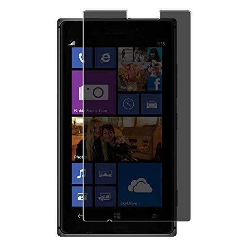 Vaxson TPU Pellicola Privacy, compatibile con NOKIA Lumia 925, Screen Protector Film Filtro Privacy [ Non Vetro Temperato ]