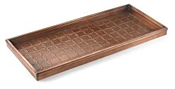 He'll love this copper boot tray perfect 7th anniversary gift idea