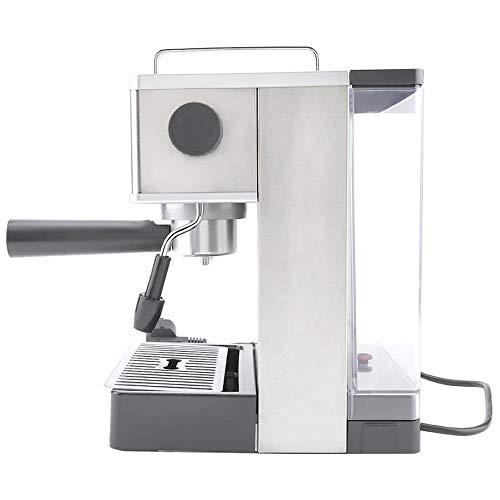 XIMULIZI Kaffeemaschine Edelstahl Espresso Kaffeemaschine Kaffeemaschine Hochdruck Italien Pumpe Heiß,US