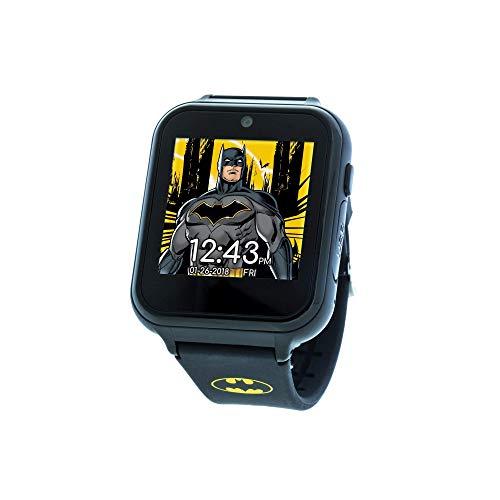 DC Comics Touch-Screen Armbanduhr mit Silikonband, schwarz, 19,3 (Modell: BAT4740)