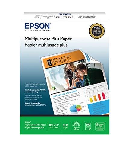 Epson Multipurpose Plus Paper - S450217-4 8.5' x 11' (500 sheets)