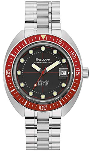 Bulova Herren Automatik Armbanduhr Oceanographer Devil Diver 96B343