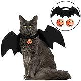 Katzenkostüm , Halloween Katze Fledermaus Kostüm Haustiere Kleidung / Halloween Costume Pet...