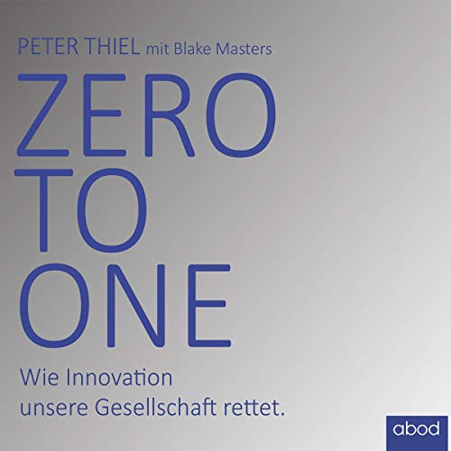 Zero to one cover art