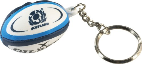 Gilbert Unisex Scotland Rugby Ball Schlüsselanhänger, Mehrfarbig, One Size