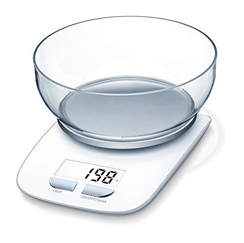 Beurer KS 25 ex Tara Balance culinaire avec écran LCD Charge maximale 3 kg 1,2 l