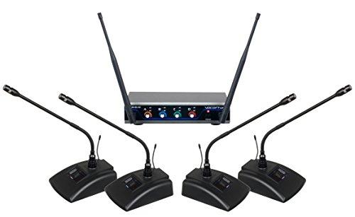 VocoPro Wireless Microphone System, DIGITAL-QUAD-CONFERENCE-C4 (DIGITAL-QUAD-CONFERENCE-C4)