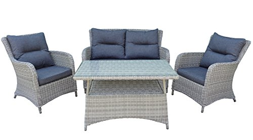 Rattan Lounge Westminster Garten Sitzgruppe in and out