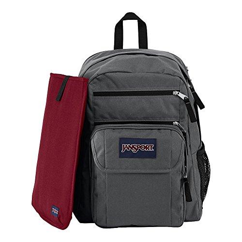 JanSport Digital Student Laptop Backpack - Forge Grey