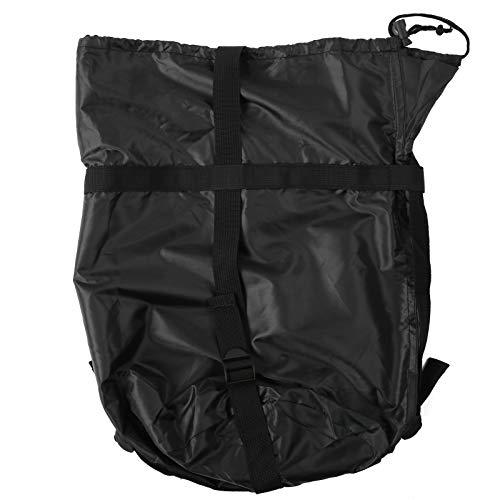 Alomejor 2PCS Saco de Dormir Bolsa de Almacenamiento Bolsa de Almacenamiento de compresión Ligera para Acampar al Aire Libre Saco de Dormir Paquete de Ropa Llevar