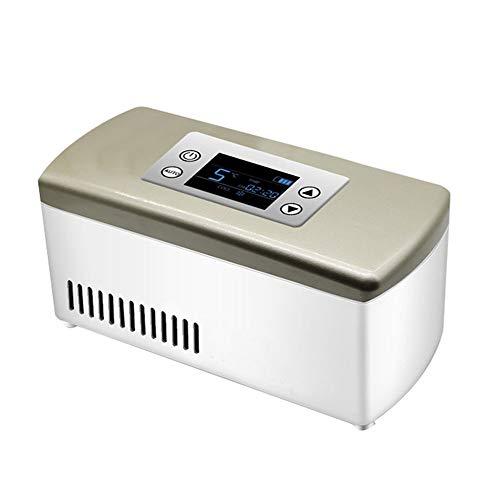 YPBX Refrigerador De Insulina para Viaje, Caja Refrigerada De Medicina Portátil, Reefer De Drogas De 2-18 ° C, Coche, Hogar, Oficina Mini Nevera