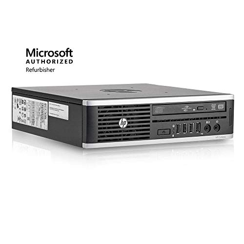 HP Elite PC Desktop Computer Package - Intel Quad Core i5 3.1GHz, 8GB RAM, 500GB, 19inch LCD Monitor, Keyboard, Mouse, DVD, WiFi Adapter, Windows 10 Professional (Renewed)