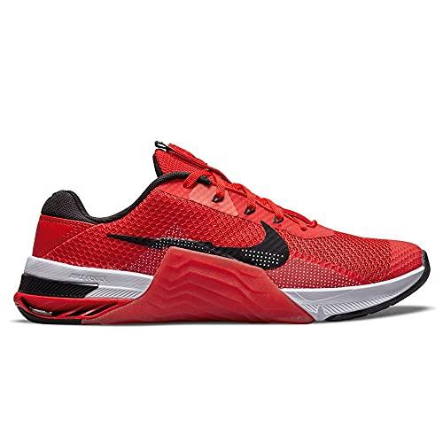 Nike Metcon 7, Scarpe da Calcio Unisex-Adulto, Chile Red/Black-Magic Ember-White, 42.5 EU
