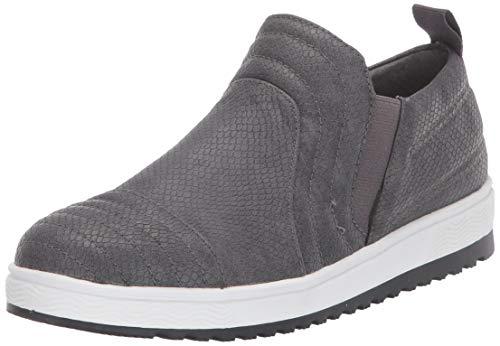 Mootsies Tootsies Women's Giggle Sneaker, Grey, 7.5 M US