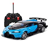 Remote Control Car for Boys Toys Bugatti RC Cars for Kids, Rechargable 1/16 High Speed Fast RC Drift Cars for Adults, LED Light Kids Car Toys Gift for Boys Girls