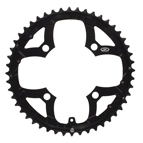 Shimano Kettenblatt 48 Z. schwarz Deore 4-Loch 104mm Lochkreis