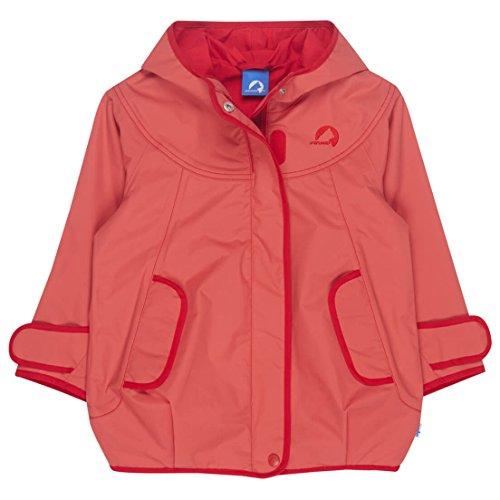 FINKID Lokki Mädchen Parka Zip In Jacke Outdoor Persian Red Gr. 110 120 (U15426)