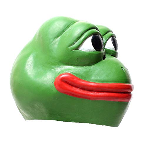 hilarious adult frog mask