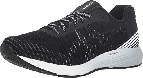 ASICS Men's Dynaflyte 3 Running Shoes, 10.5, Black/White