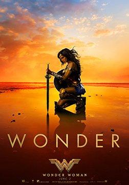 Juego de 5tarjetas postales edición limitada película 2017de Wonder Woman DC Comics