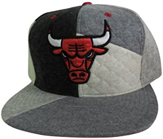 grey chicago bulls snapback