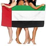 UPNOW Emirats Arabes Unis Drapeau Serviette De Bain Absorbant Wrap pour Camping Serviette De Plage