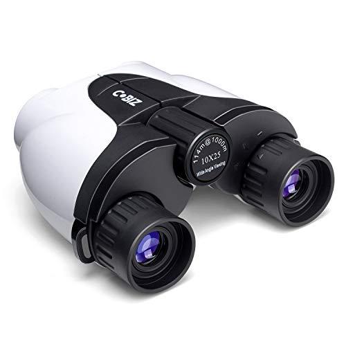 Kids Binoculars,Cobiz 10x25 Outdoor Binoculars for Kids, Folding Spotting Telescope for Bird Watching, Camping and Hunting,Best Christmas Gifts for Boys,Girls