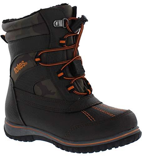 totes Kids' Comfort Snow Boot, CAMO, 5