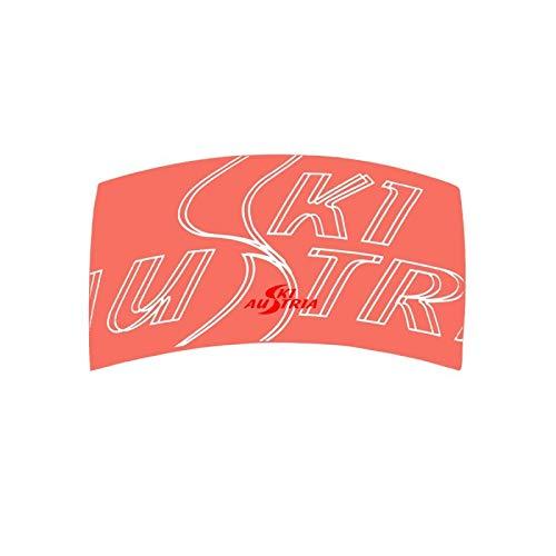Ski Austria Shop Kinder Stirnband Headband Modal (Magenta) (Living Coral)