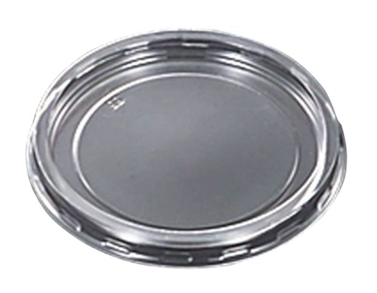 膨張する暴動ネコ中央化学 使い捨て容器蓋 C-APカップ76 落し蓋 50枚入 サイズ:約7.9×7.9×0.7cm