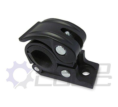 ATV Adjustable 3/4' - 1' Rack or Handlebar Clamp Mount for Lights GPS Phone etc