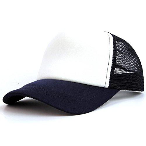 Sombrero para correr al aire libre Las gorras publicitarias del viaje de la malla del festival de la primavera y del verano se pueden ajustar tamaño algodón de la cabra gorra de béisbol de la lengua.
