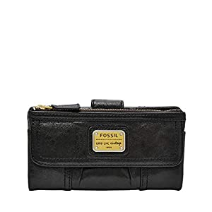 Fossil Women's Emory Soft Leather Clutch Wallet 8