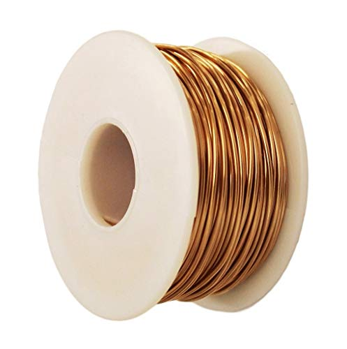Bronze Round Wire 1 Lb Spool (Dead Soft) Gauges -16-18-20-22-24-26 / See Variations (16 Ga - 125 Ft)