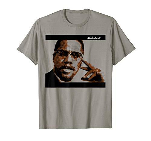 Malcolm Civil Rights America X T-Shirt