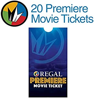 20 Regal Entertainment Group Premiere Movie Tickets (SAVE $50!)